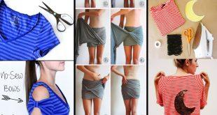 صورة اعادة استعمال الملابس القديمة , كيفيه تدوير الثياب القديمه