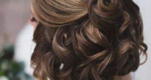 صورة تسريحه ناعمه للشعر القصير , تصفيفات رقيقه لقصار الشعر