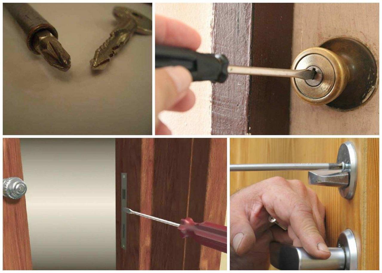صورة طريقة فتح الباب , وسائل لفتح الباب اذا فقدت المفتاح