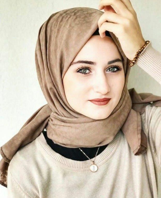 صورة اجمل محجبات , رمزيات فتيات بالطرحه جميلات