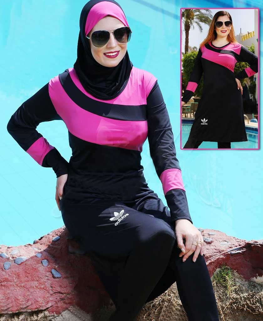 صورة مايوه اسلامي , موديلات ملابس سباحه للمحجبات