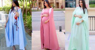 صور ازياء حوامل , تشكيله رائعه من لبس النساء الحوامل