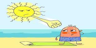 صورة ضربة الشمس وعلاجها , اهم الاسعافات الاولية لمن تعرض لضربة شمس