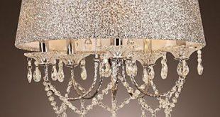 صورة اشكال ثريات غرف النوم , اجمل تشكيلة صور ثريات مودرن لغرف النوم 2020