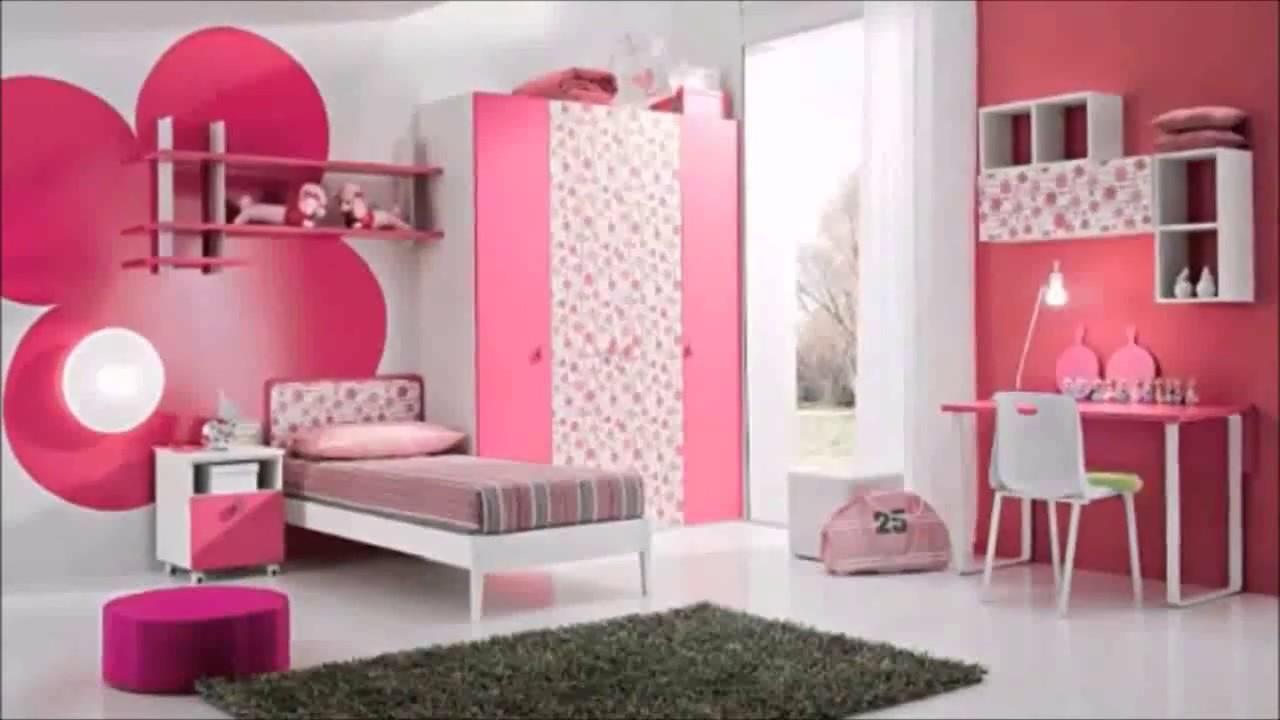 صورة تصميمات غرف نوم بنات , اجمل ديكورات غرف نوم بنات 2020