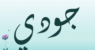 صورة معنى اسم جودي, اسماء ذكرت في جميع الاديان السماوية