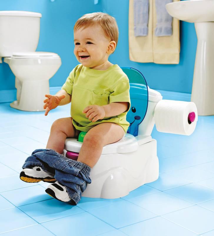 صورة تربية وتنشأة , تعليم الطفل دخول الحمام 12596 3