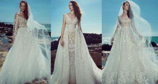 اشيك فستان ممكن ان ترتديه فى حياتك , فساتين زفاف زهير مراد 2019