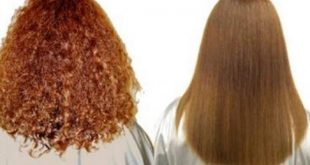 وصفه لتنعيم الشعر, فرد الشعر وتنعيمة بمكونات طبيعية بمنزلك