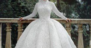 فساتين زفاف للمحجبات, اليكم فستان زفافي وراي اصدقائي به